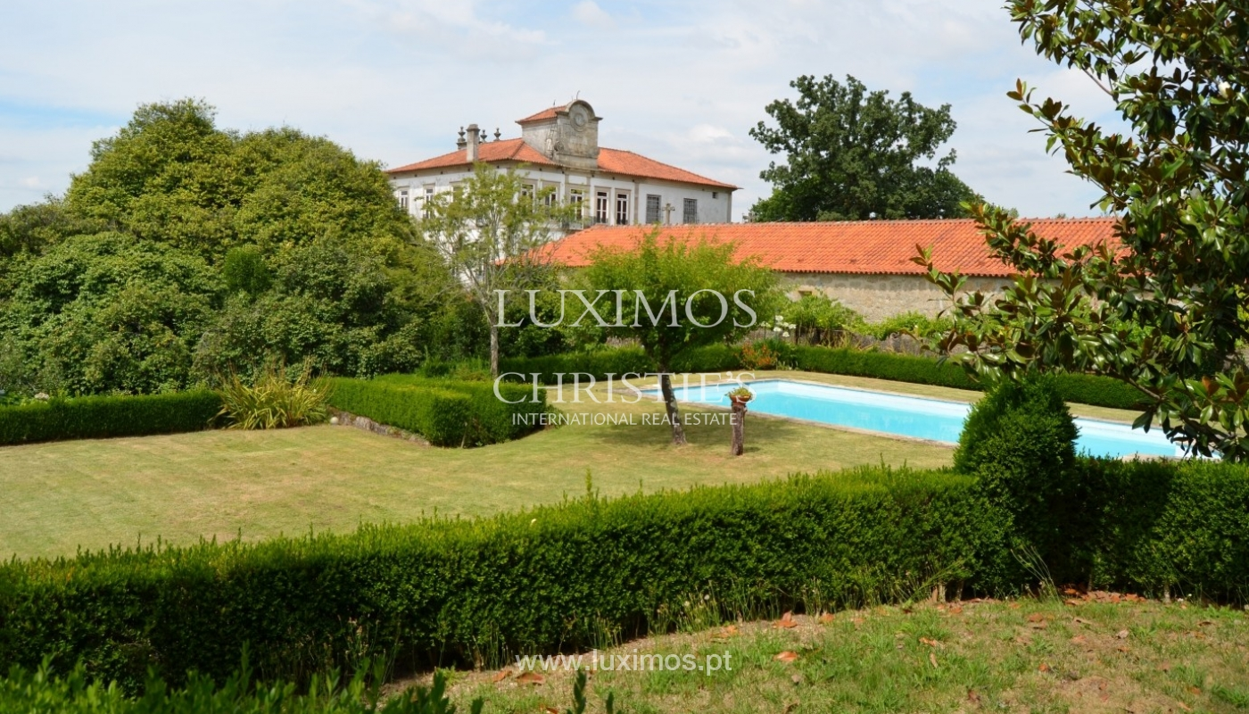 Country house with garden, lake and swimming pool, Penafiel, Portugal_33232