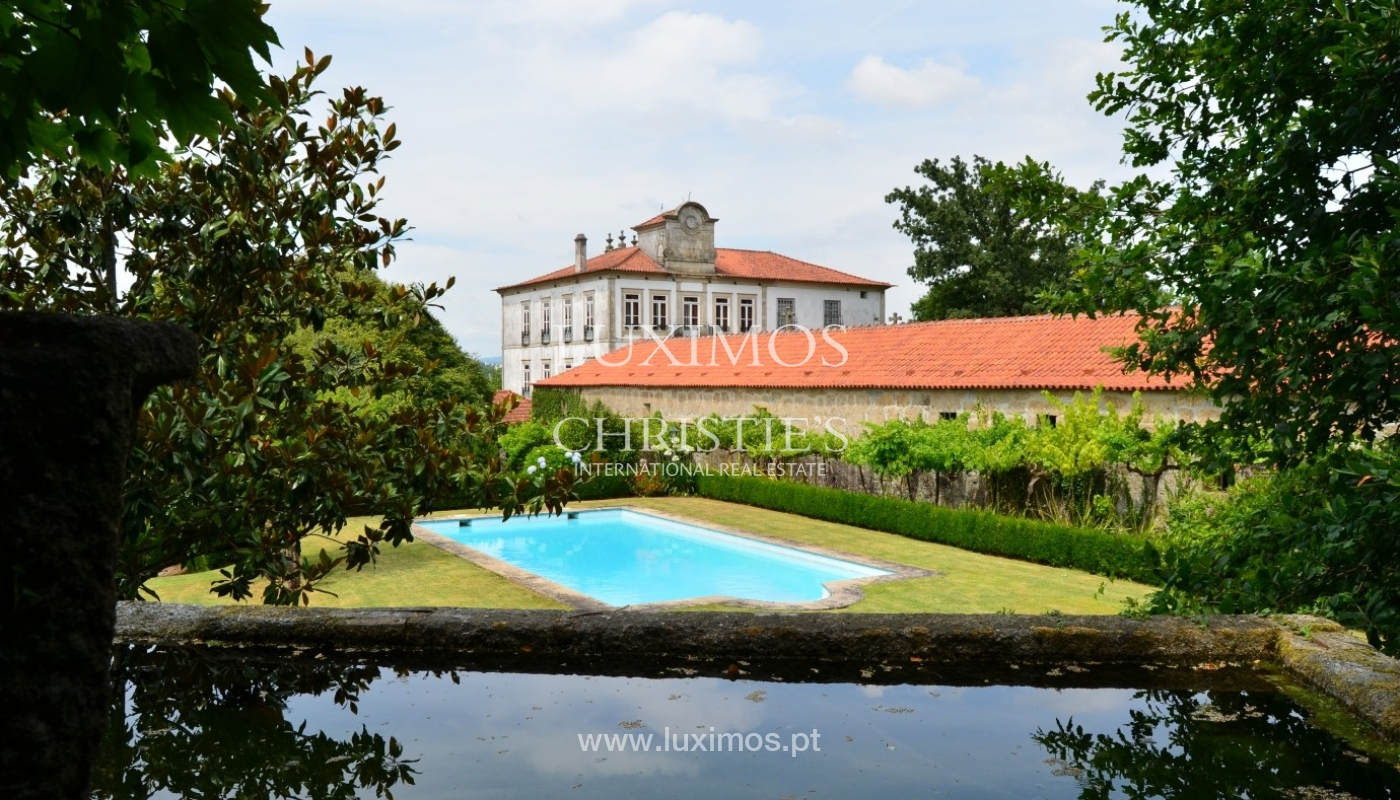 Country house with garden, lake and swimming pool, Penafiel, Portugal_33233