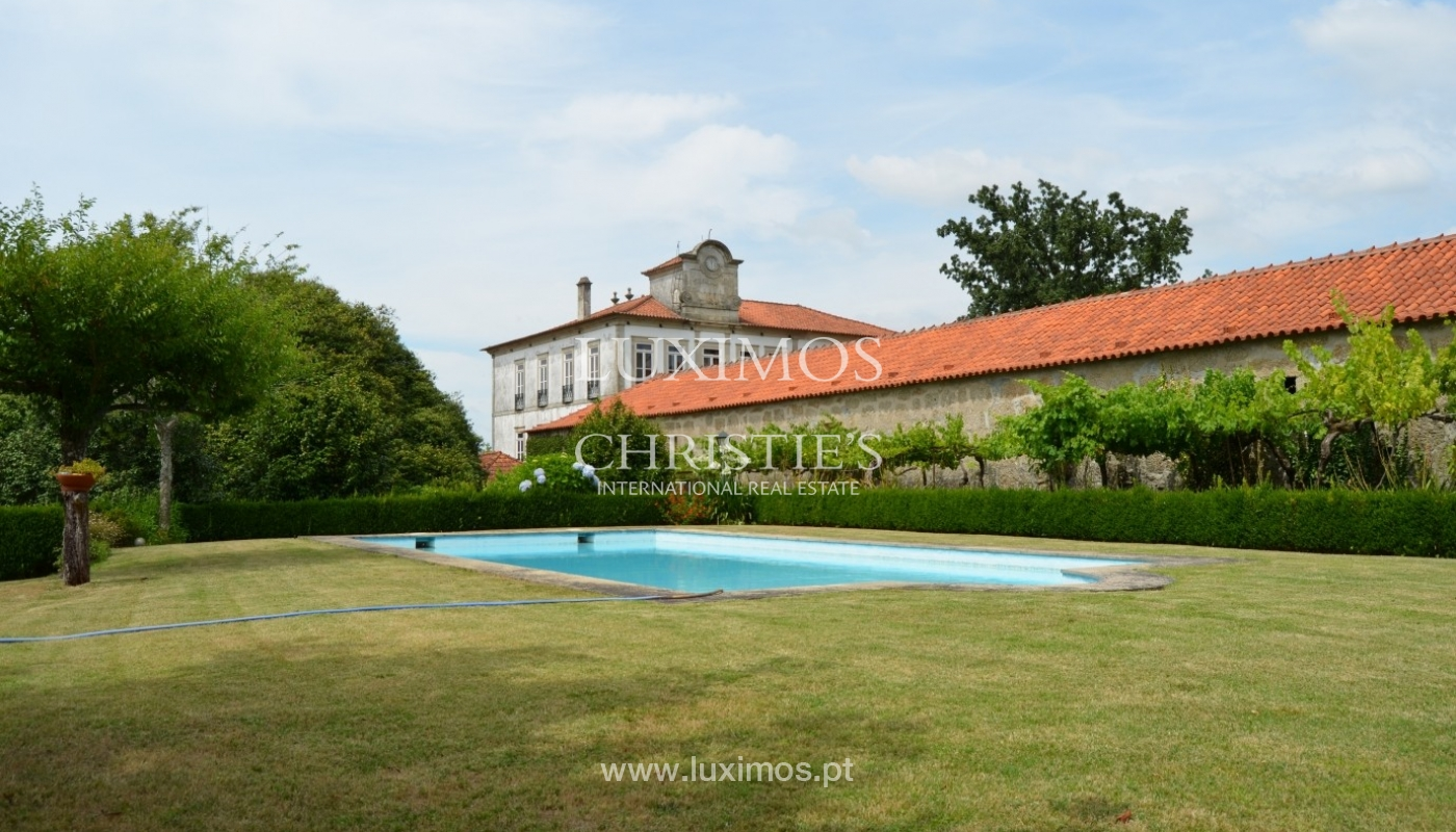 Country house with garden, lake and swimming pool, Penafiel, Portugal_33234