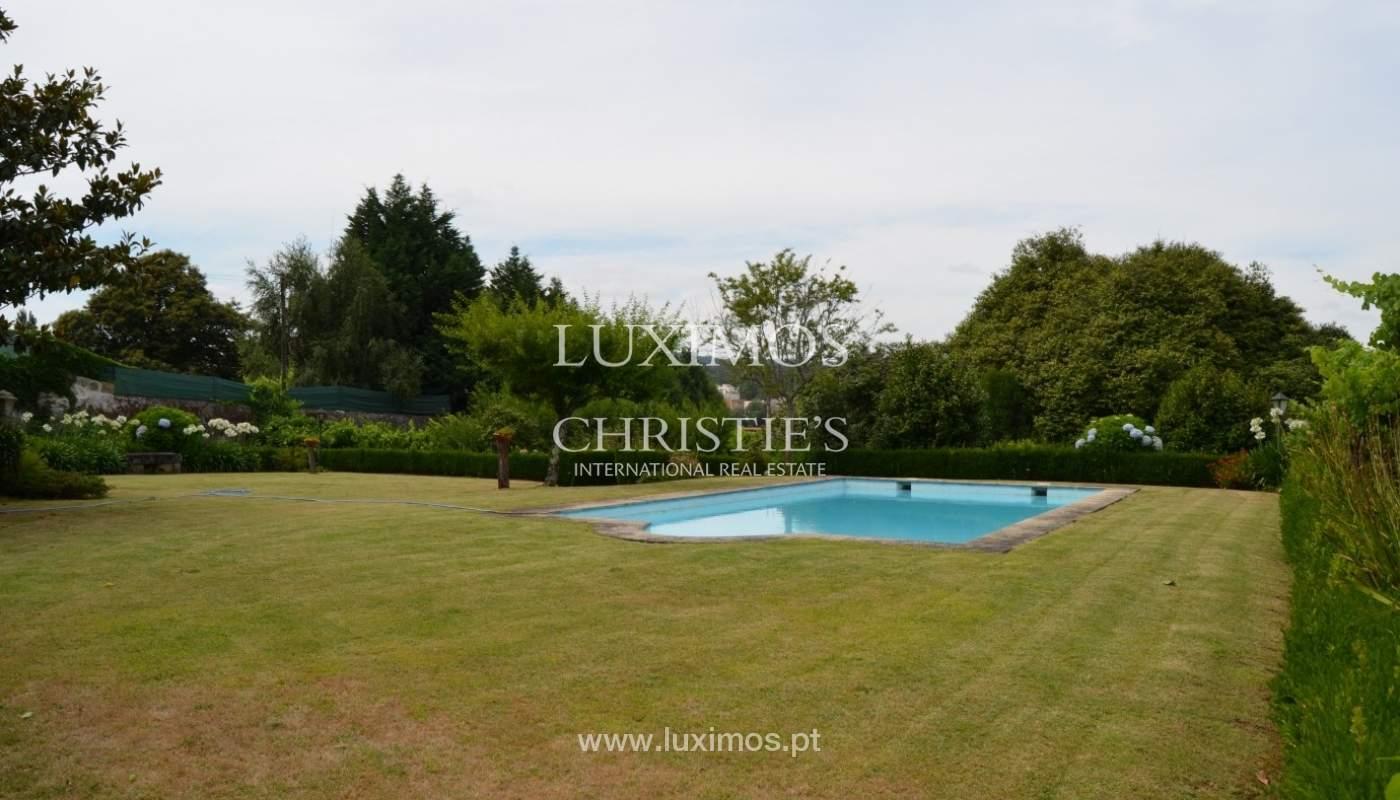 Casa de Campo con jardín, lago y piscina, Penafiel, Portugal_33235