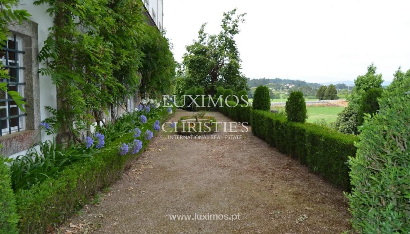 Casa de Campo con jardín, lago y piscina, Penafiel, Portugal_33251