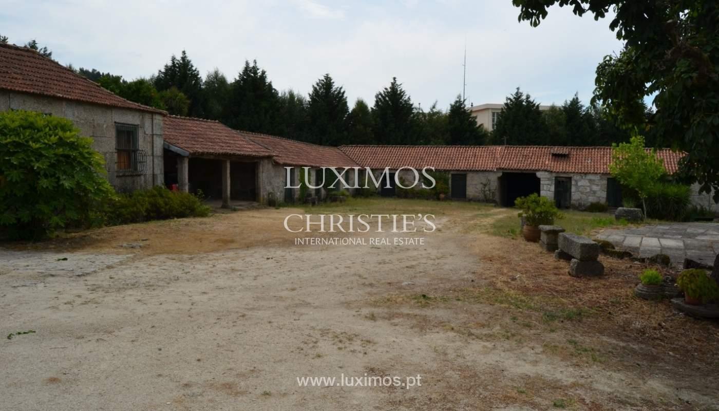 Casa de Campo con jardín, lago y piscina, Penafiel, Portugal_33252