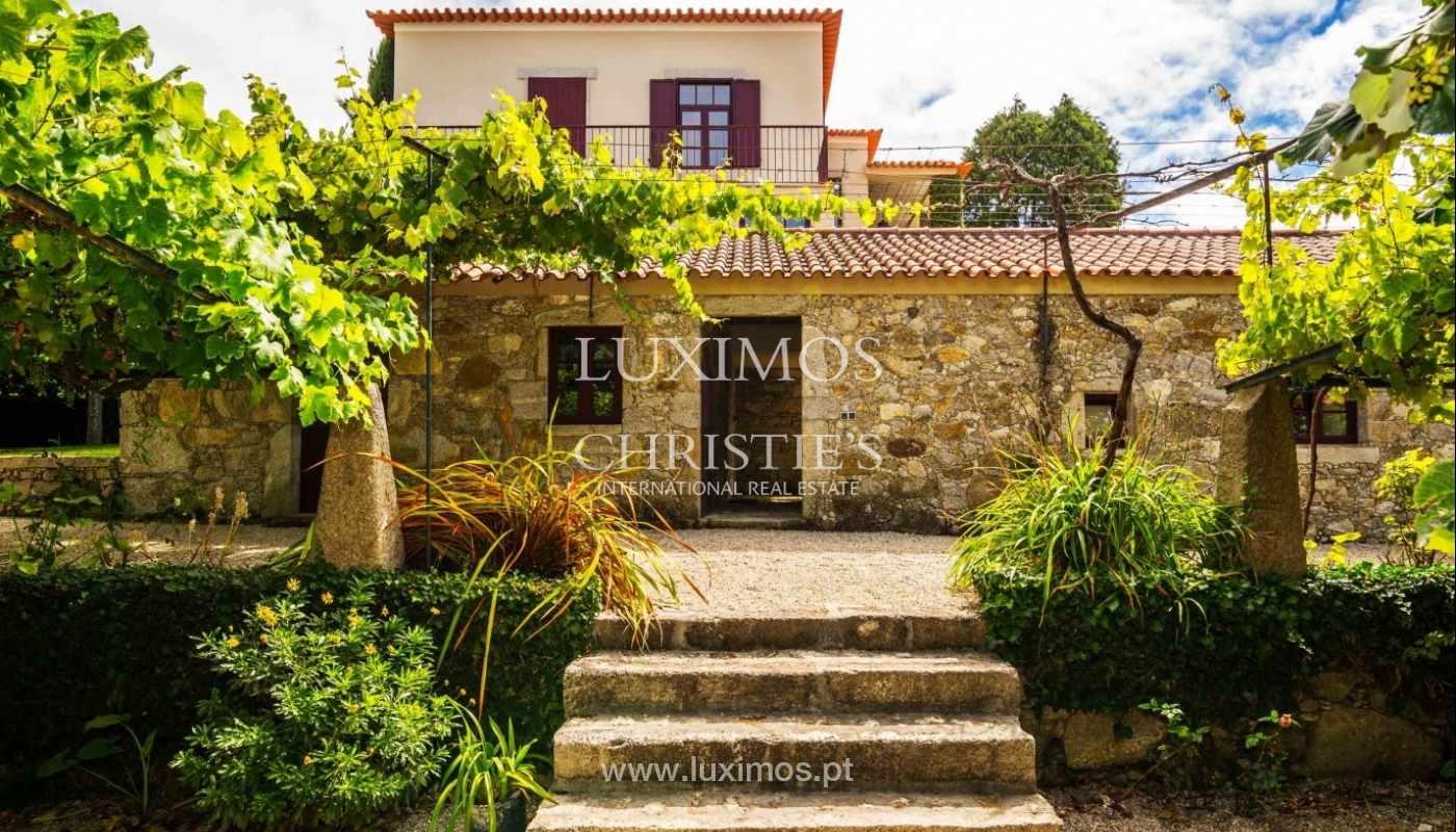 Country house with ocean views and pool, Areosa, North of Portugal_33688