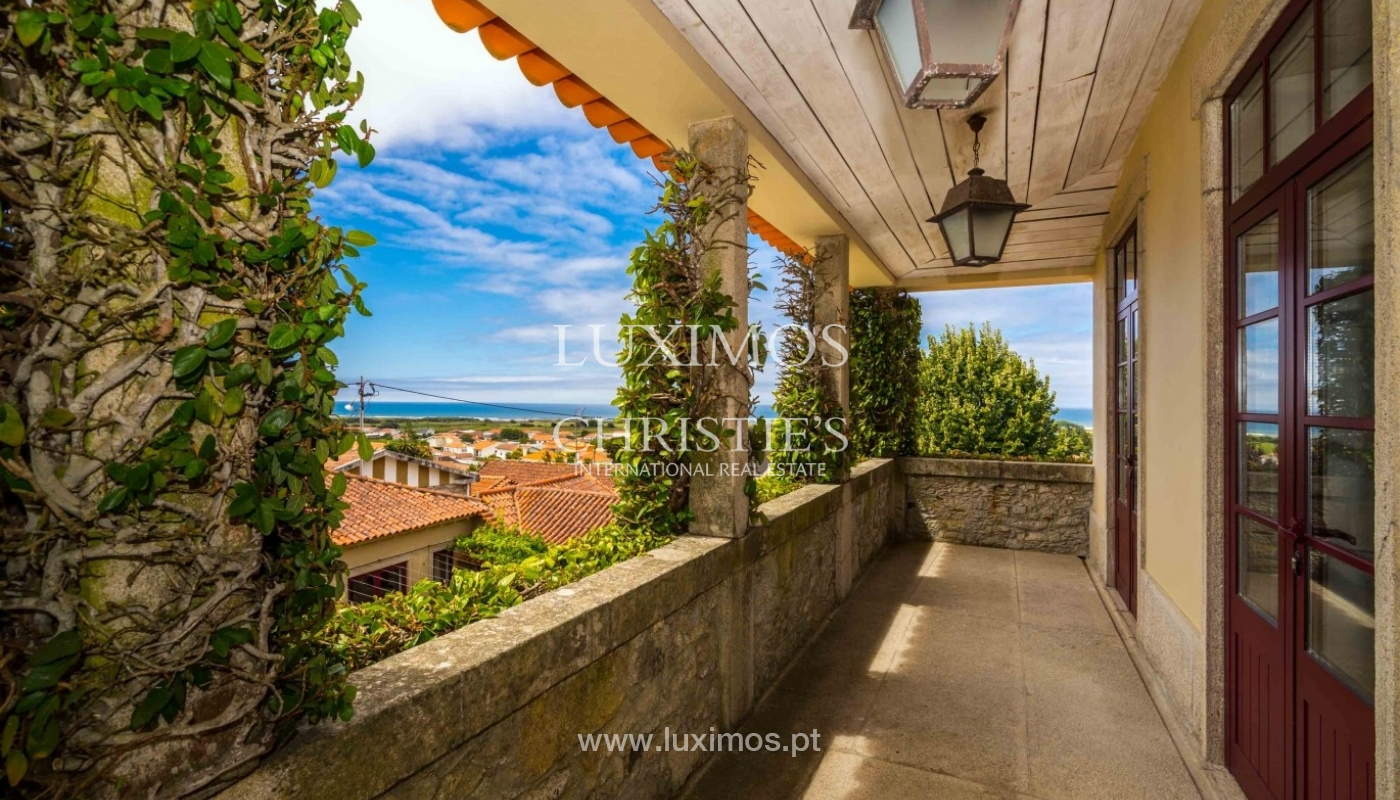 Country house with ocean views and pool, Areosa, North of Portugal_33729