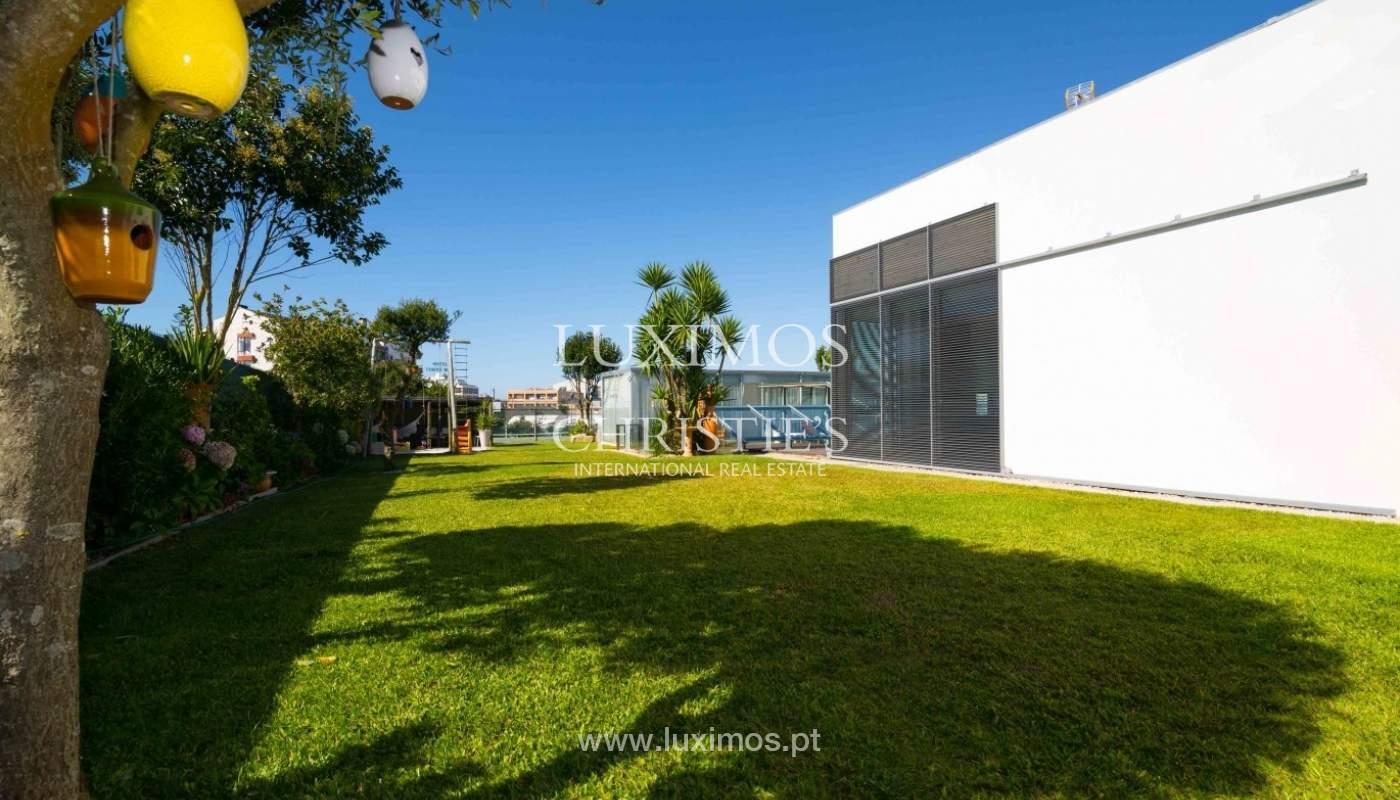 Sale of modern villa w/ swimming pool, Póvoa Varzim, Porto, Portugal _35504