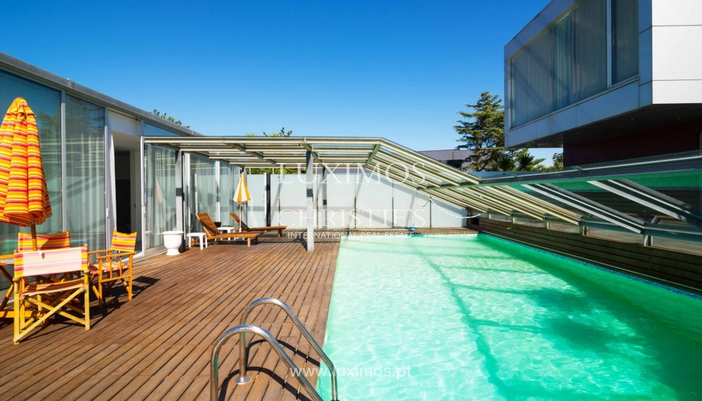 Sale of modern villa w/ swimming pool, Póvoa Varzim, Porto, Portugal _35505