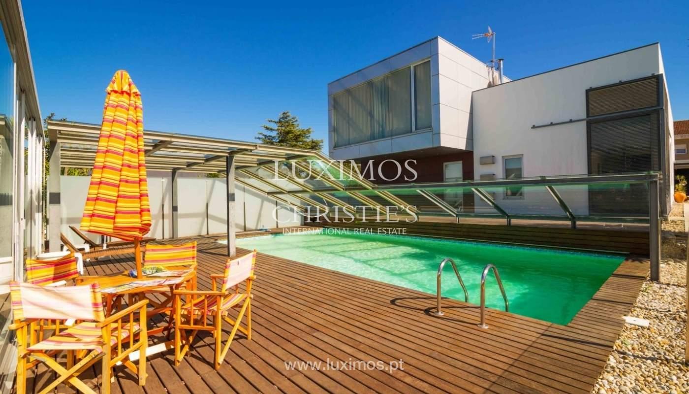 Sale of modern villa w/ swimming pool, Póvoa Varzim, Porto, Portugal _35507