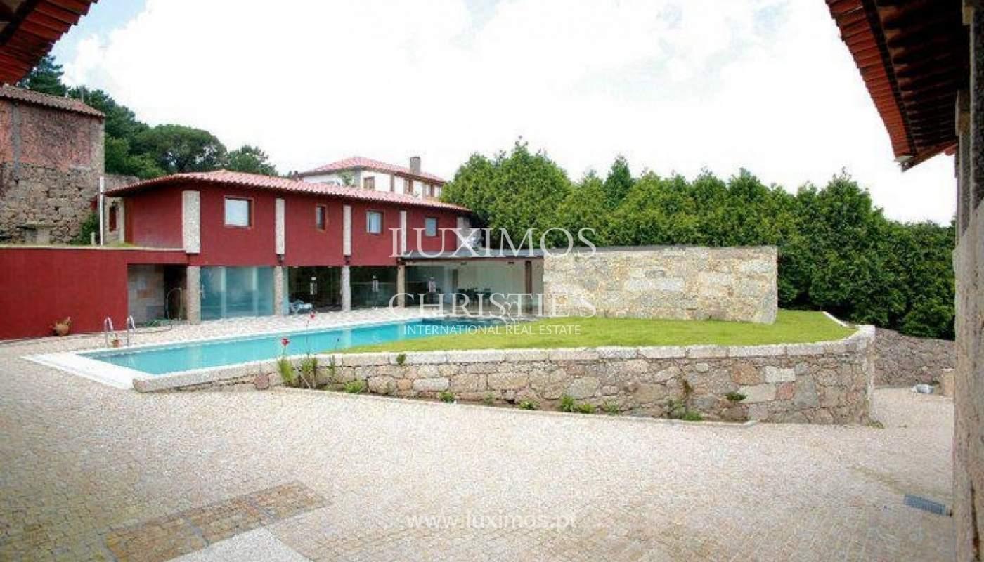 Hotel rural con piscina y jardín, Braga, Portugal_35967