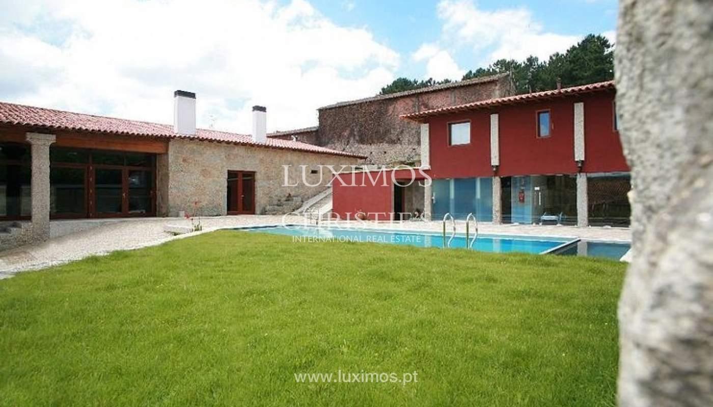 Hotel rural con piscina y jardín, Braga, Portugal_35968