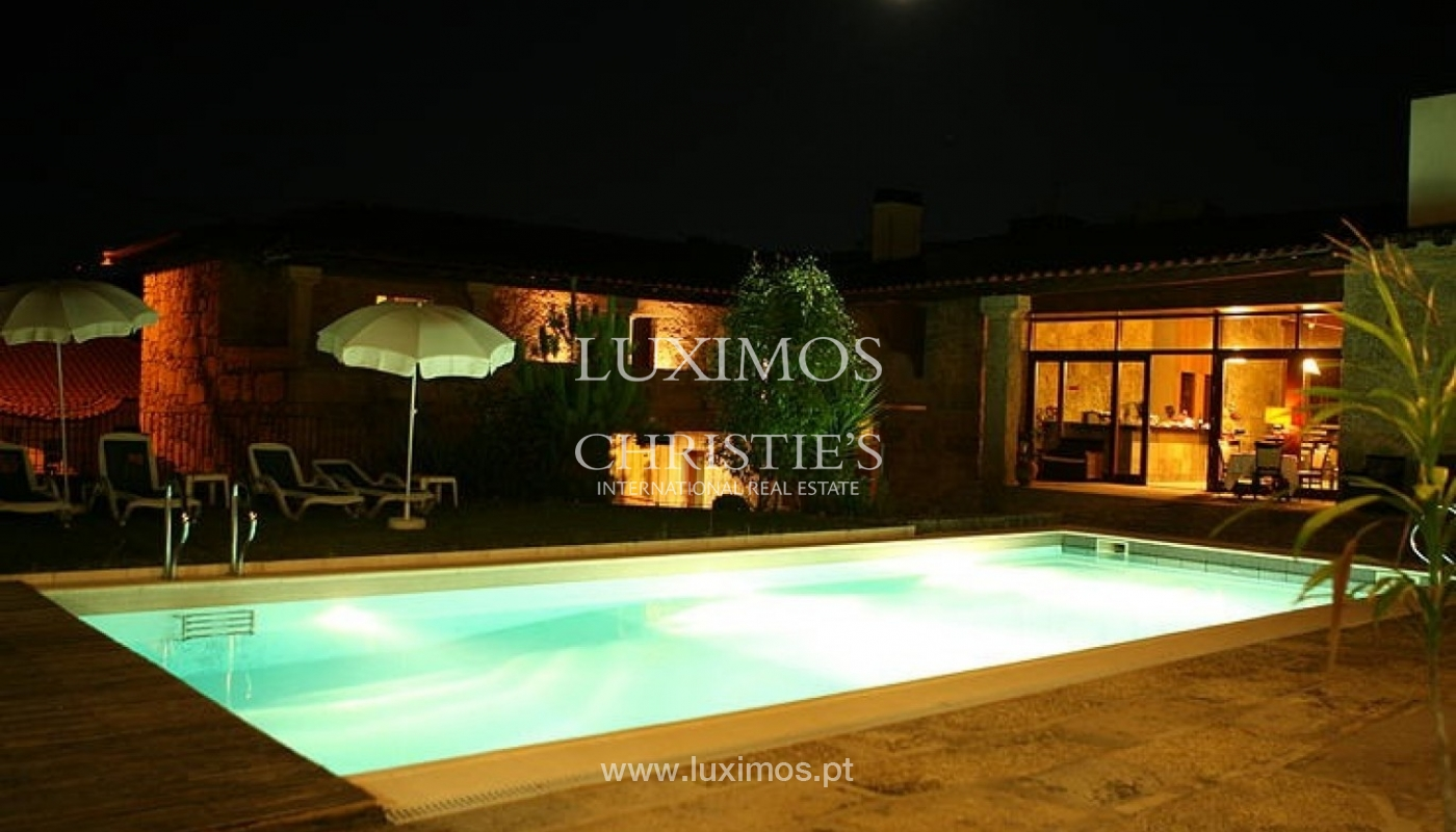 Hotel rural con piscina y jardín, Braga, Portugal_35976