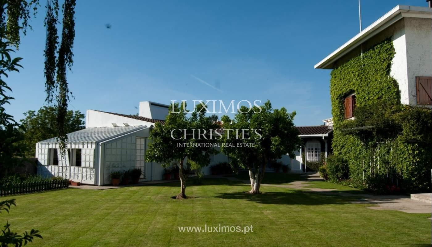 Venda de moradia de 4 frentes, com jardim, Ermesinde, Porto, Portugal _36203