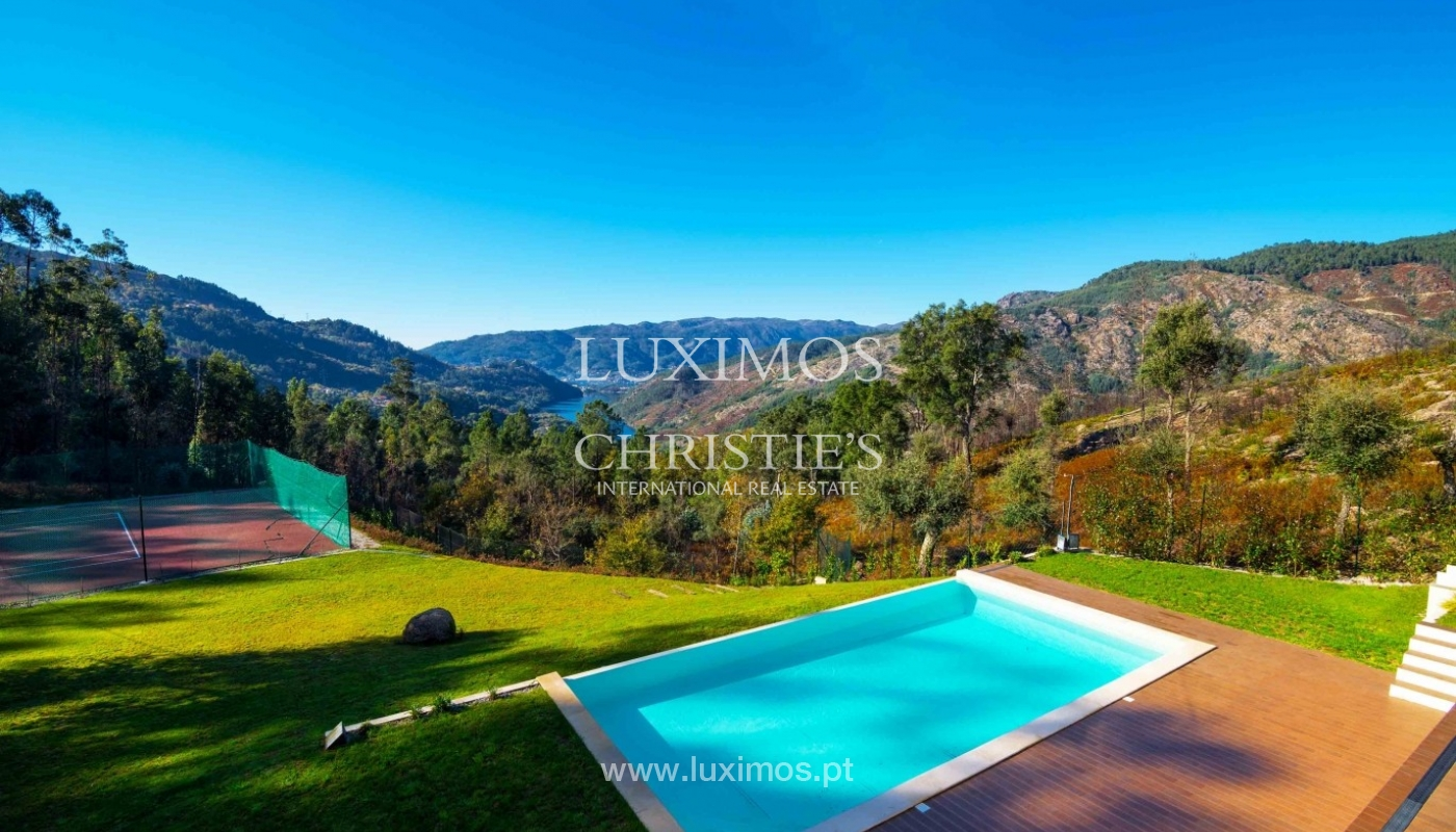 Luxury villa, with garden, swimming pool and court tennis, Gerês, Portugal_37127