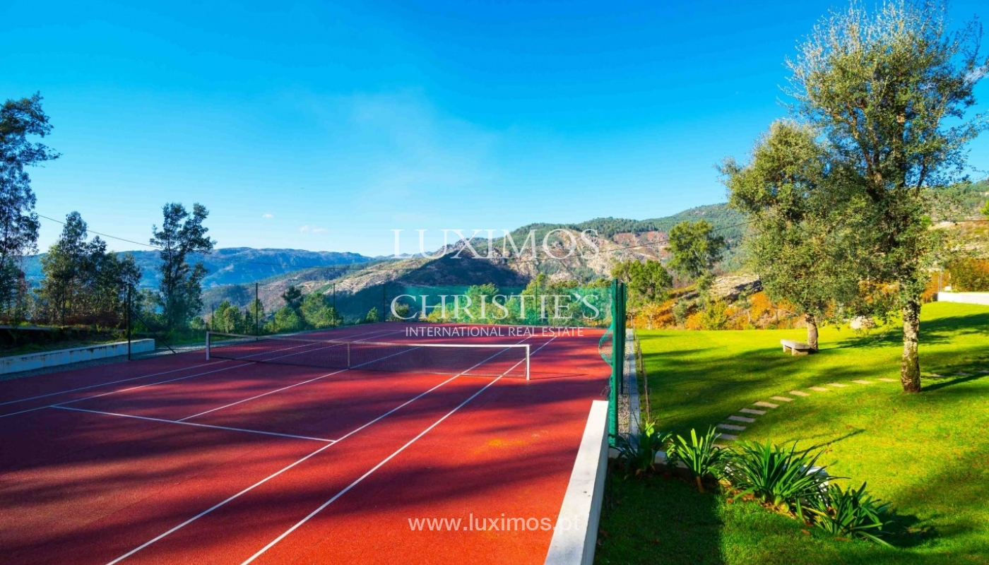 Luxury villa, with garden, swimming pool and court tennis, Gerês, Portugal_37149