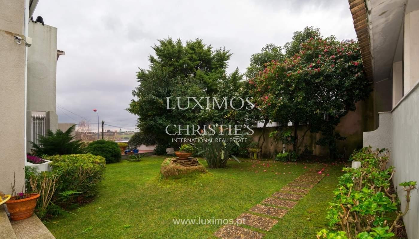 Verkauf villa mit Garten, Blick auf Fluss, Porto, Portugal _38969