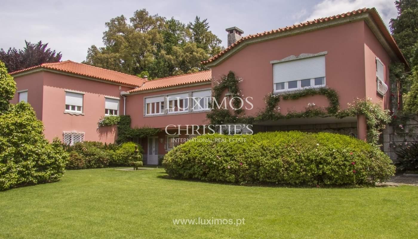 Vivienda de lujo con jardín y piscina, Guimarães, Portugal_40789