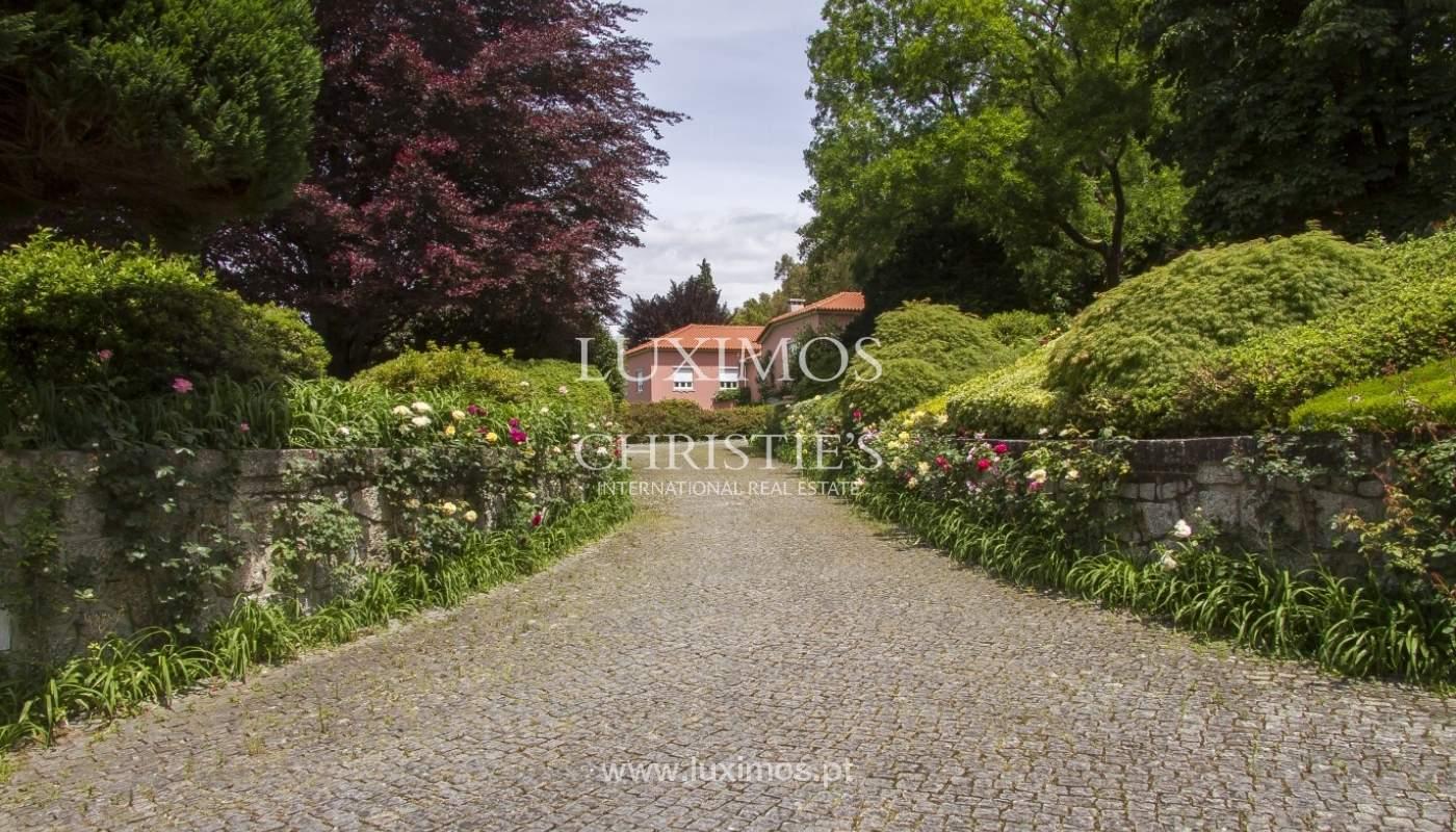Vivienda de lujo con jardín y piscina, Guimarães, Portugal_40790