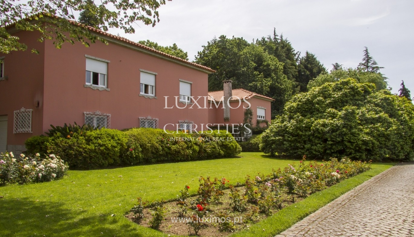 Luxury villa with garden and swimming pool, Guimarães, Portugal_40793