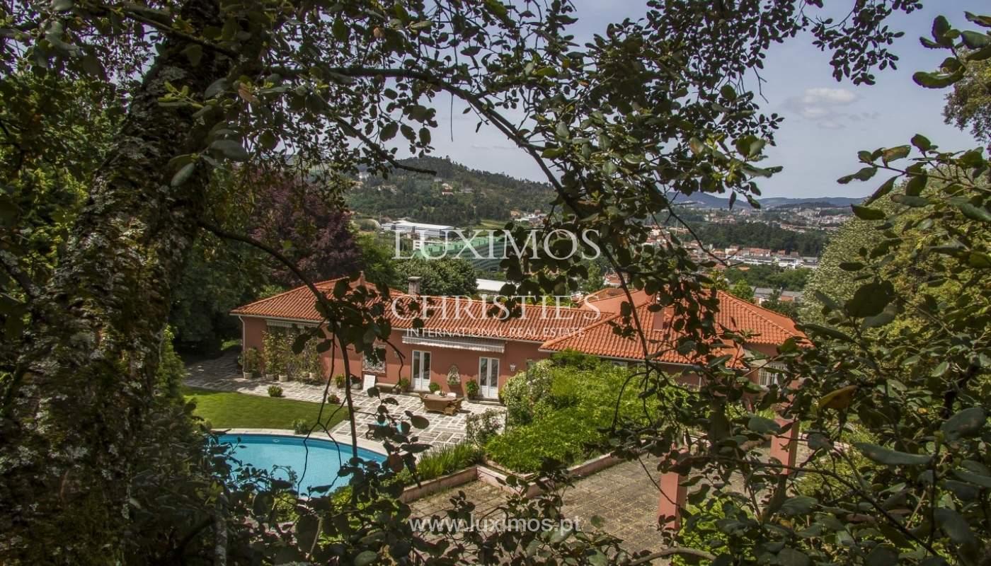 Vivienda de lujo con jardín y piscina, Guimarães, Portugal_40795