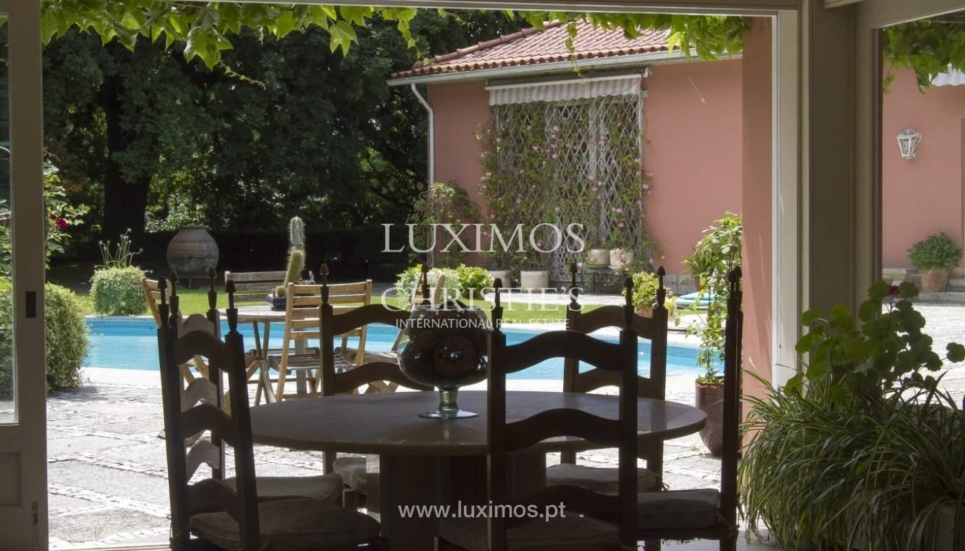 Vivienda de lujo con jardín y piscina, Guimarães, Portugal_40811