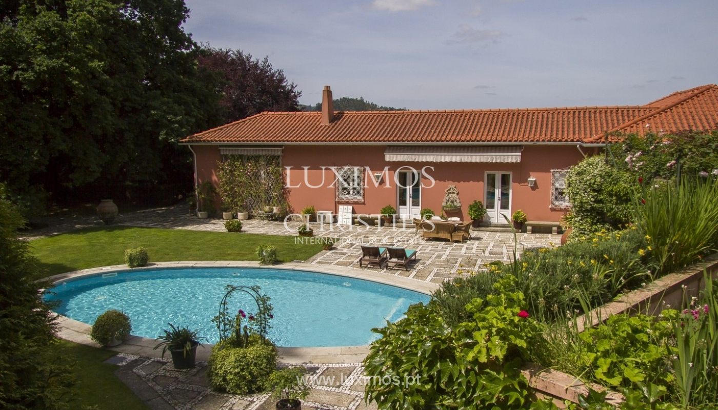 Luxury villa with garden and swimming pool, Guimarães, Portugal_40814