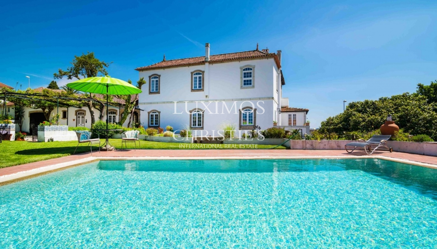 Vineyard with swimming pool, Maia, Porto, Portugal: a luxury home for sale  in Maia, , Porto - Property ID:CS01449 | Christie\'s International Real ...