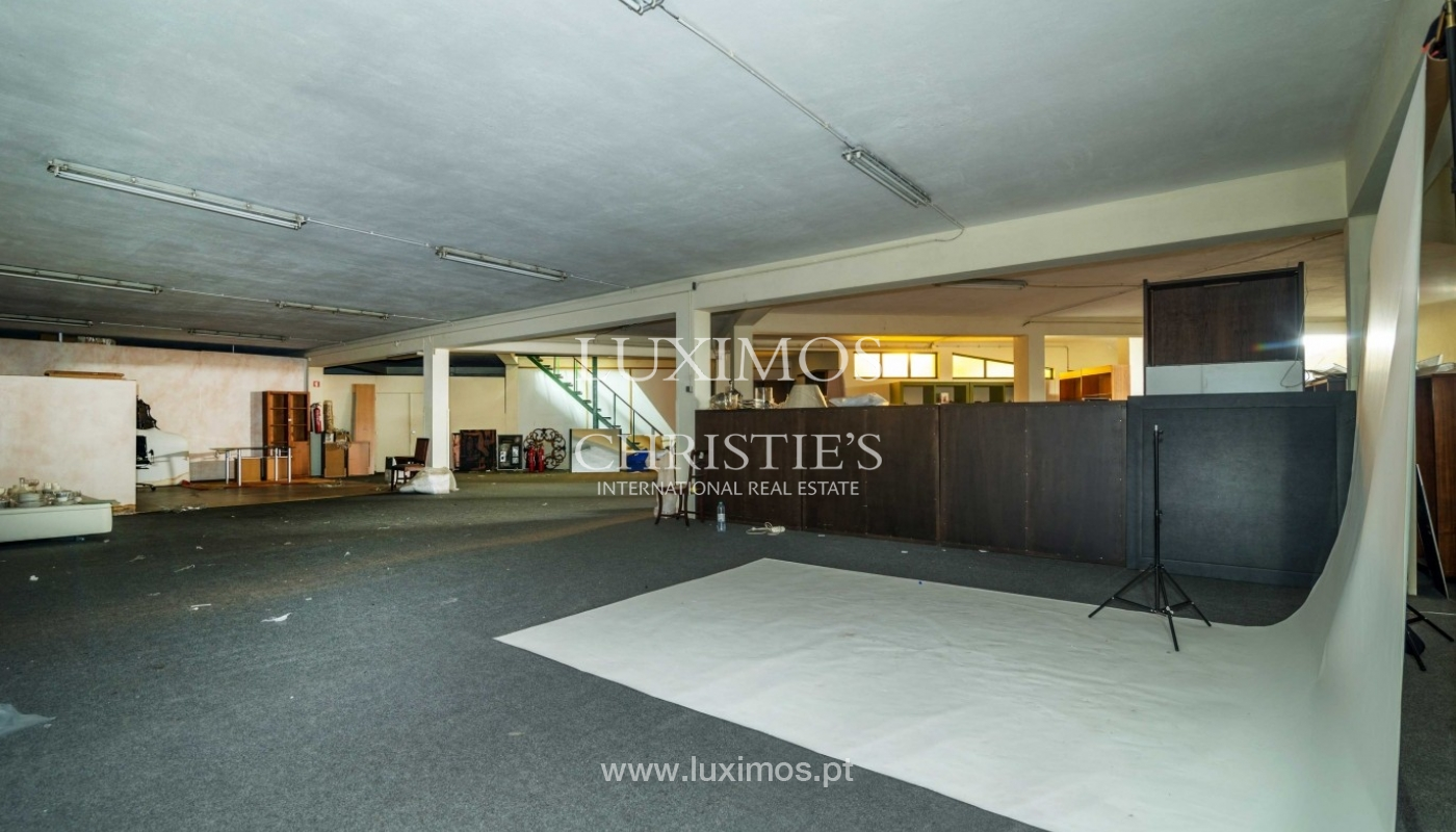 Building with project for construction of hotel, Porto, Portugal_43679