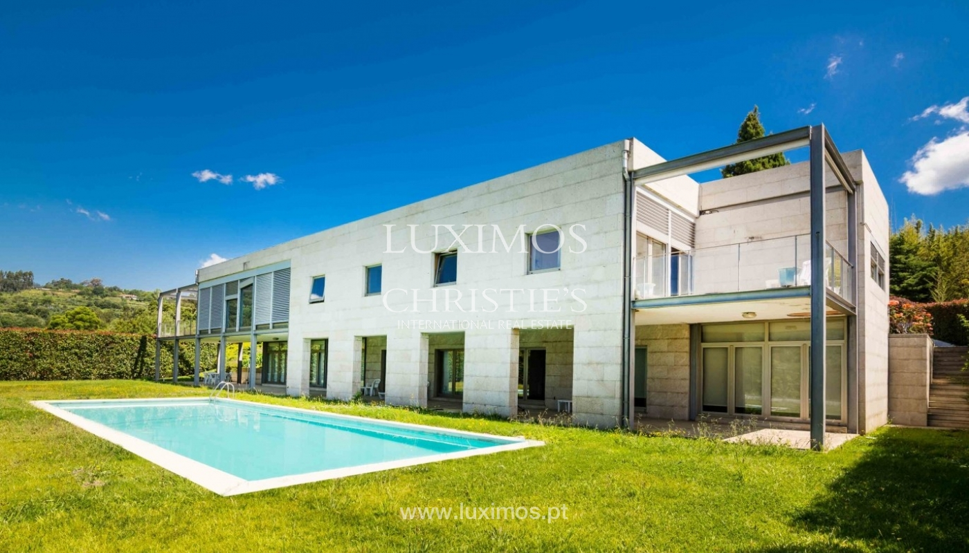Luxury and modern villa, with river views, Penafiel, Portugal_44240