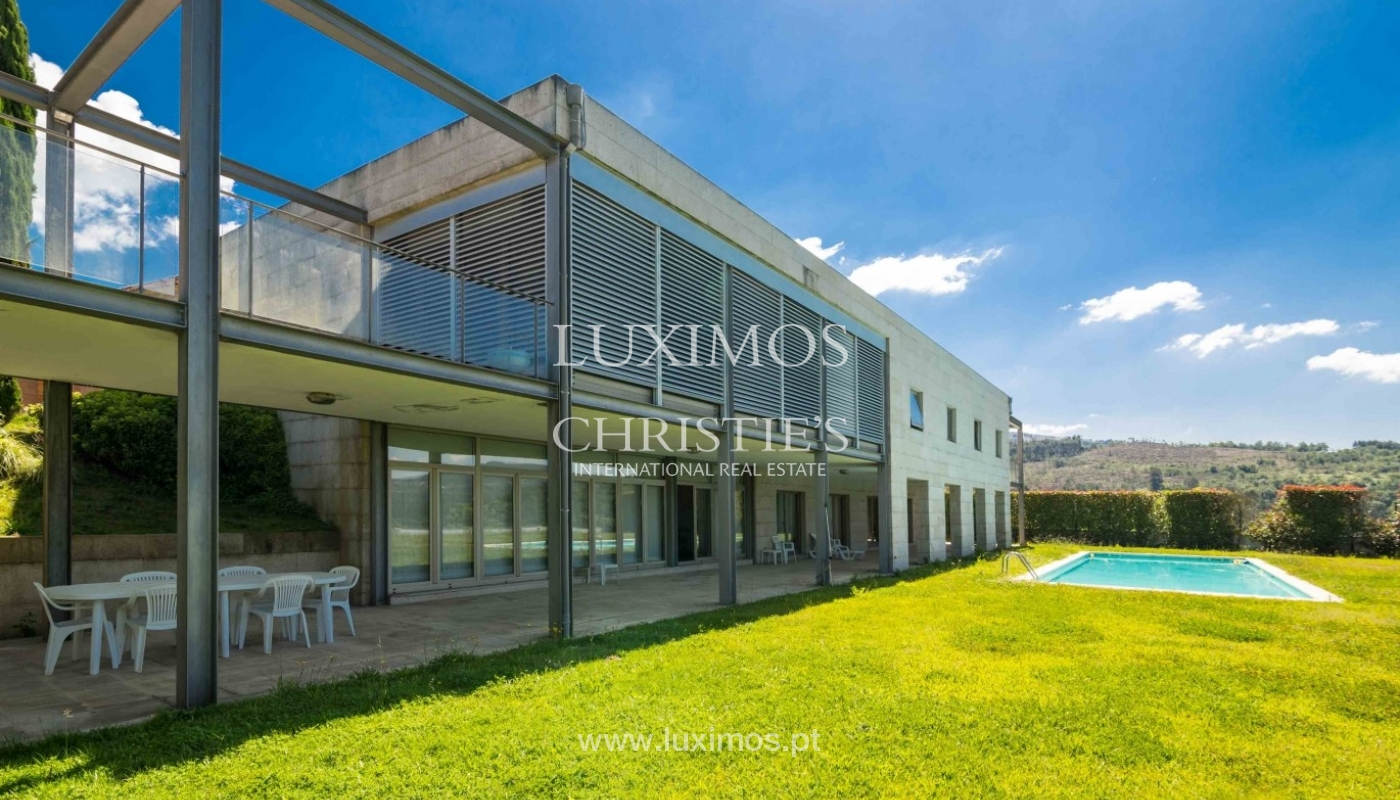 Luxury and modern villa, with river views, Penafiel, Portugal_44244