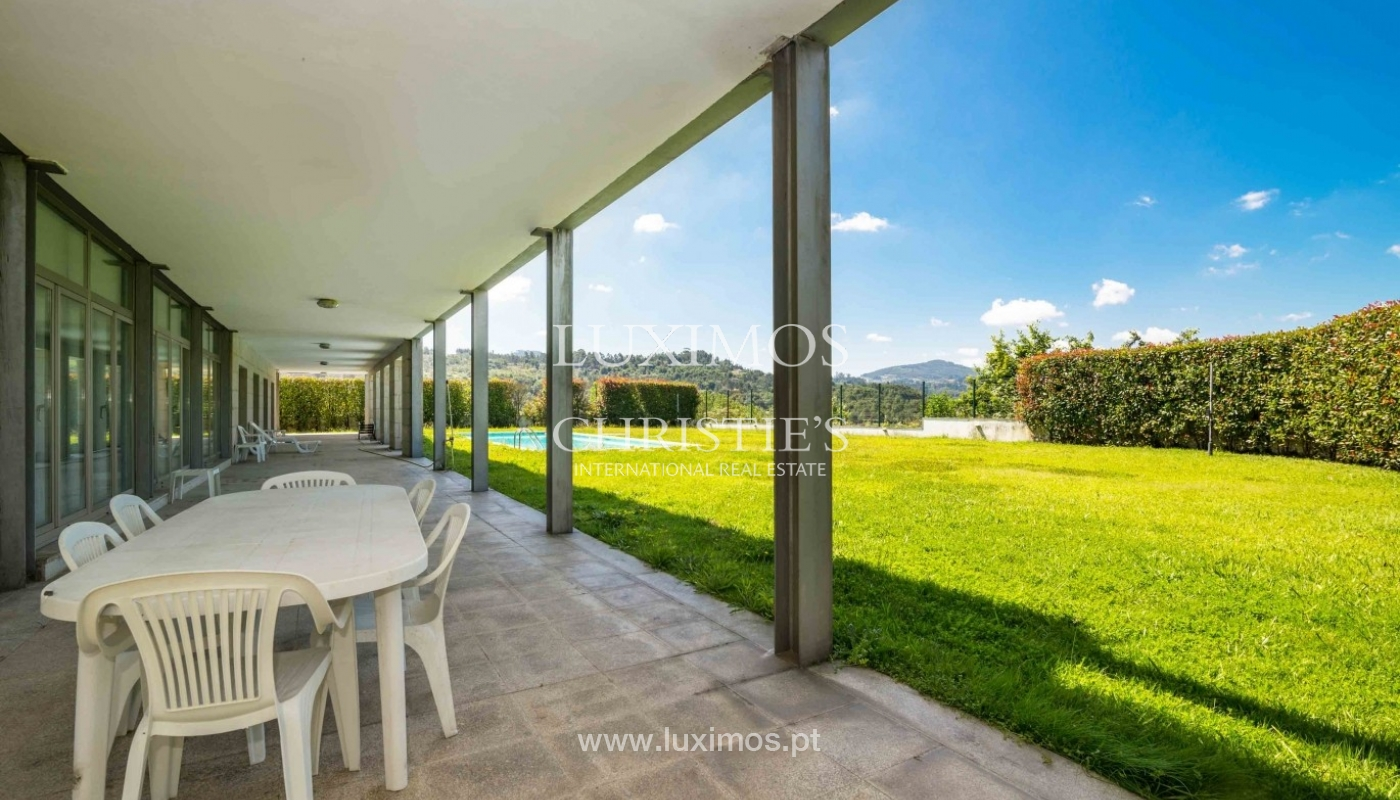 Luxury and modern villa, with river views, Penafiel, Portugal_44245