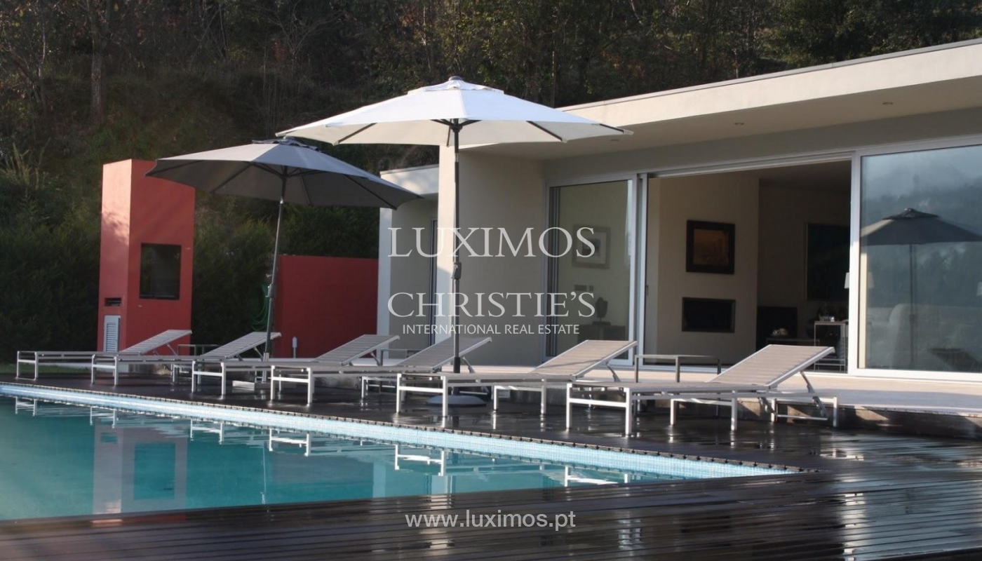 Modern villa, with views to Douro River, Marco de Canaveses, Portugal_44482
