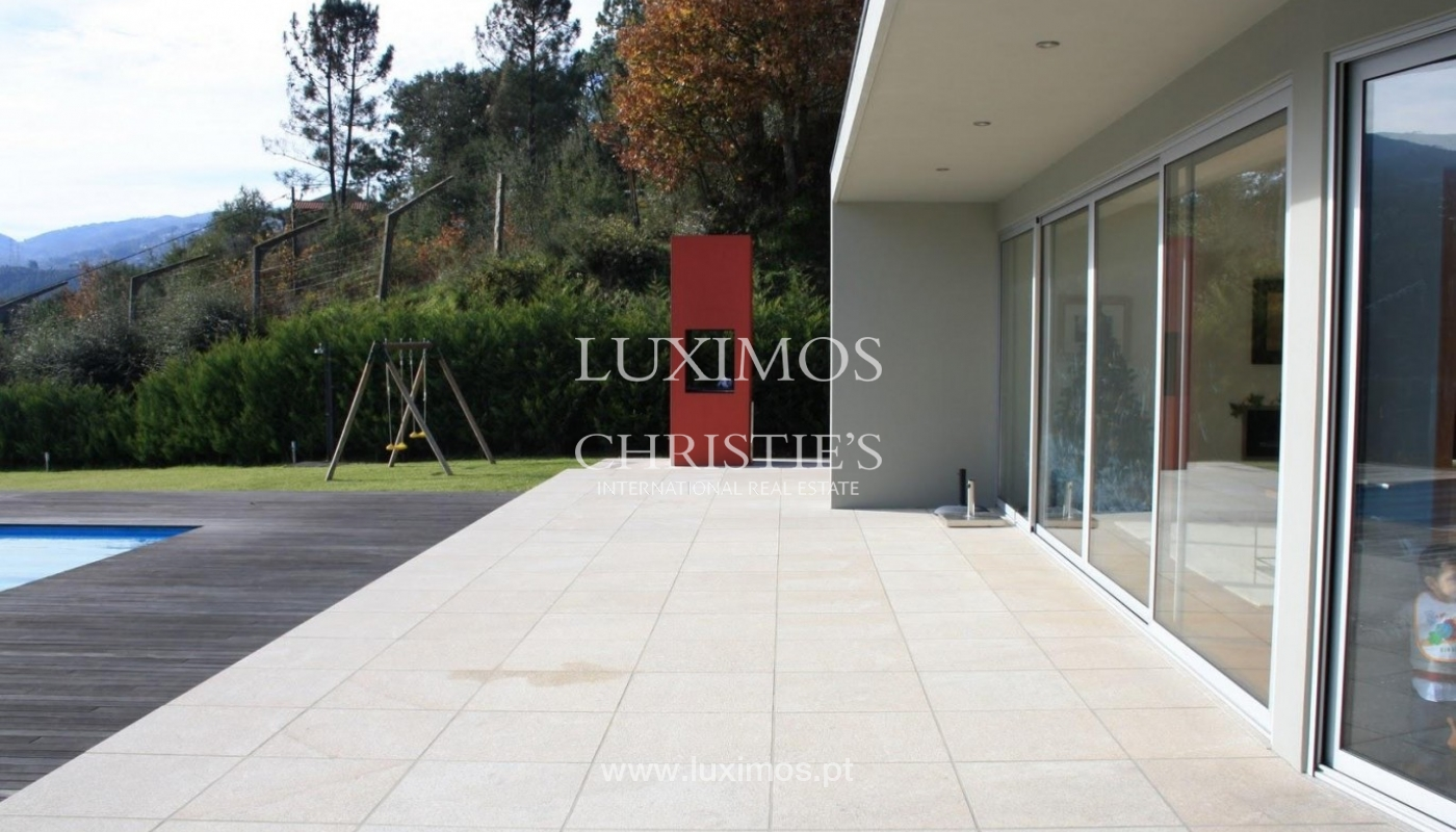 Modern villa, with views to Douro River, Marco de Canaveses, Portugal_44488