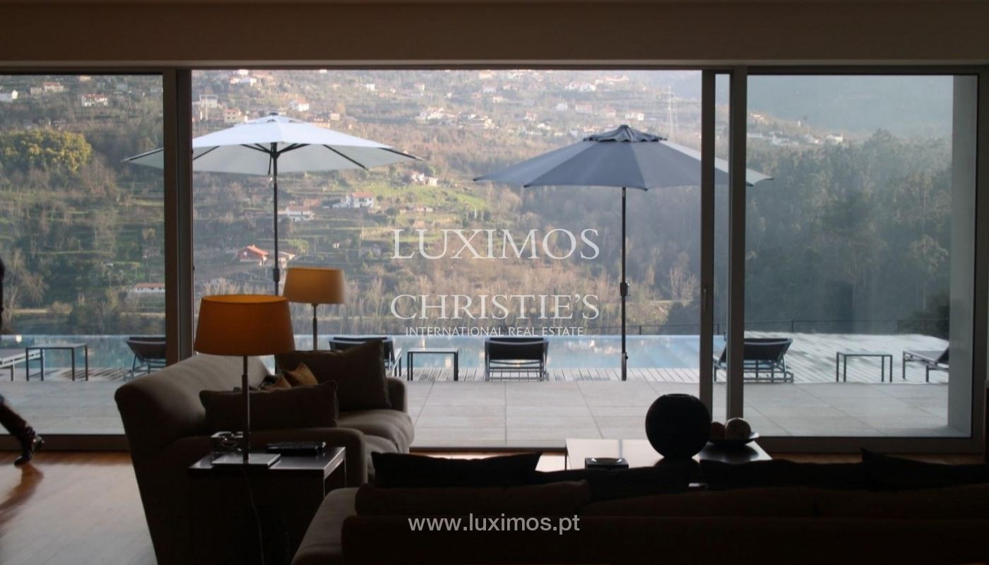 Modern villa, with views to Douro River, Marco de Canaveses, Portugal_44511