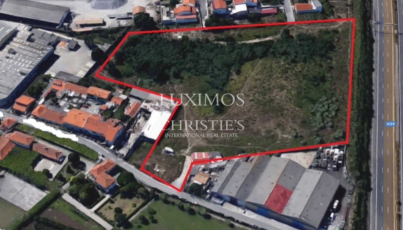Industrial plot of land next to the airport, Perafita, Porto, Portugal_44604