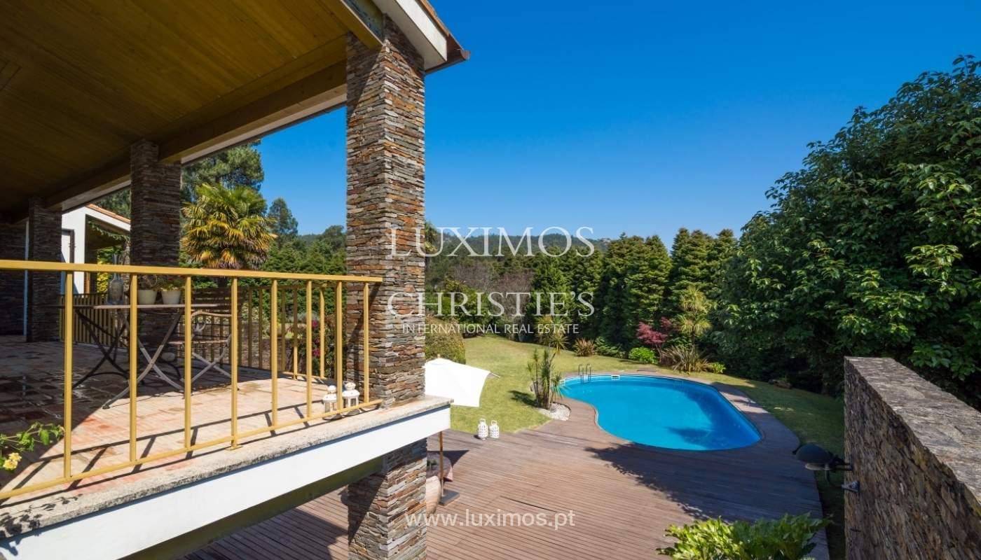 Moradia com deck, jardim e piscina, Esposende_44723
