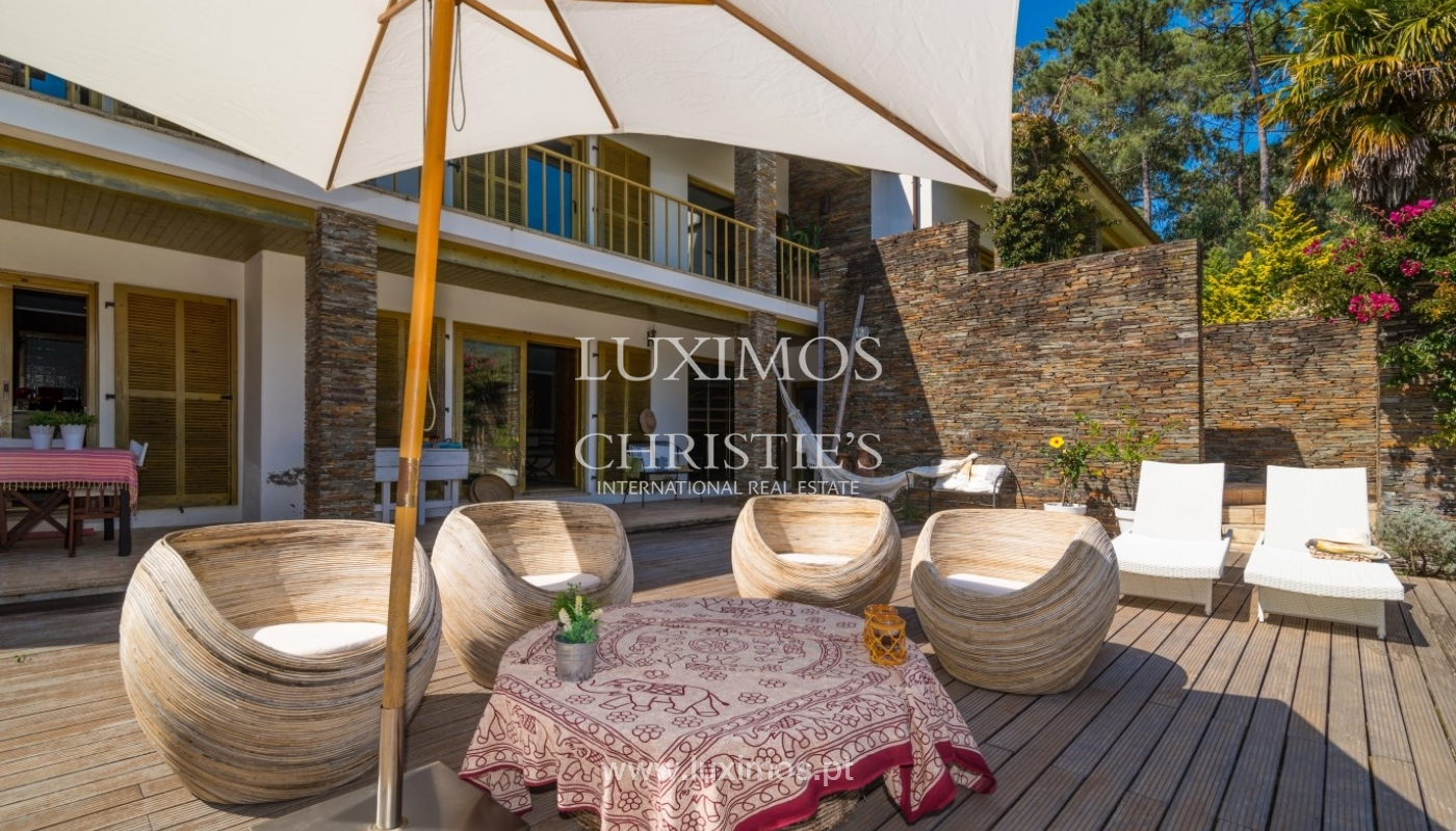 Villa with deck. garden and pool, Esposende, Portugal_44725