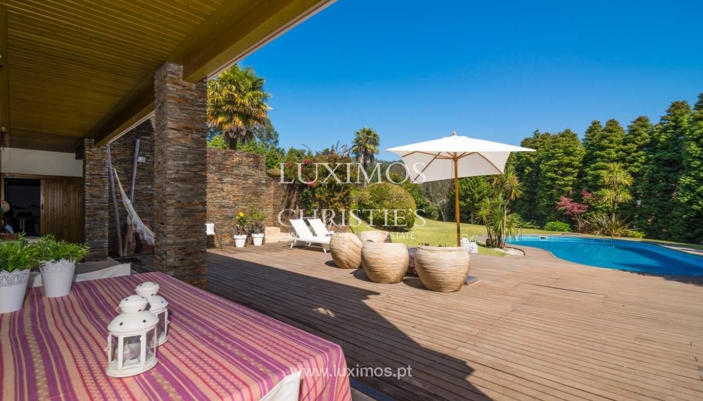 Chalet con terraza, jardín y piscina, Esposende, Portugal_44726