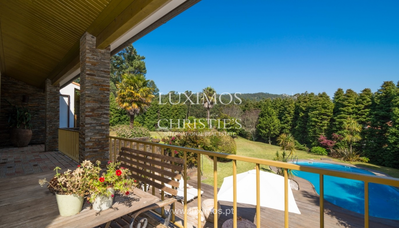 Chalet con terraza, jardín y piscina, Esposende, Portugal_44742