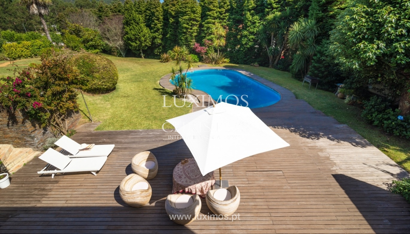 Villa with deck. garden and pool, Esposende, Portugal_44743