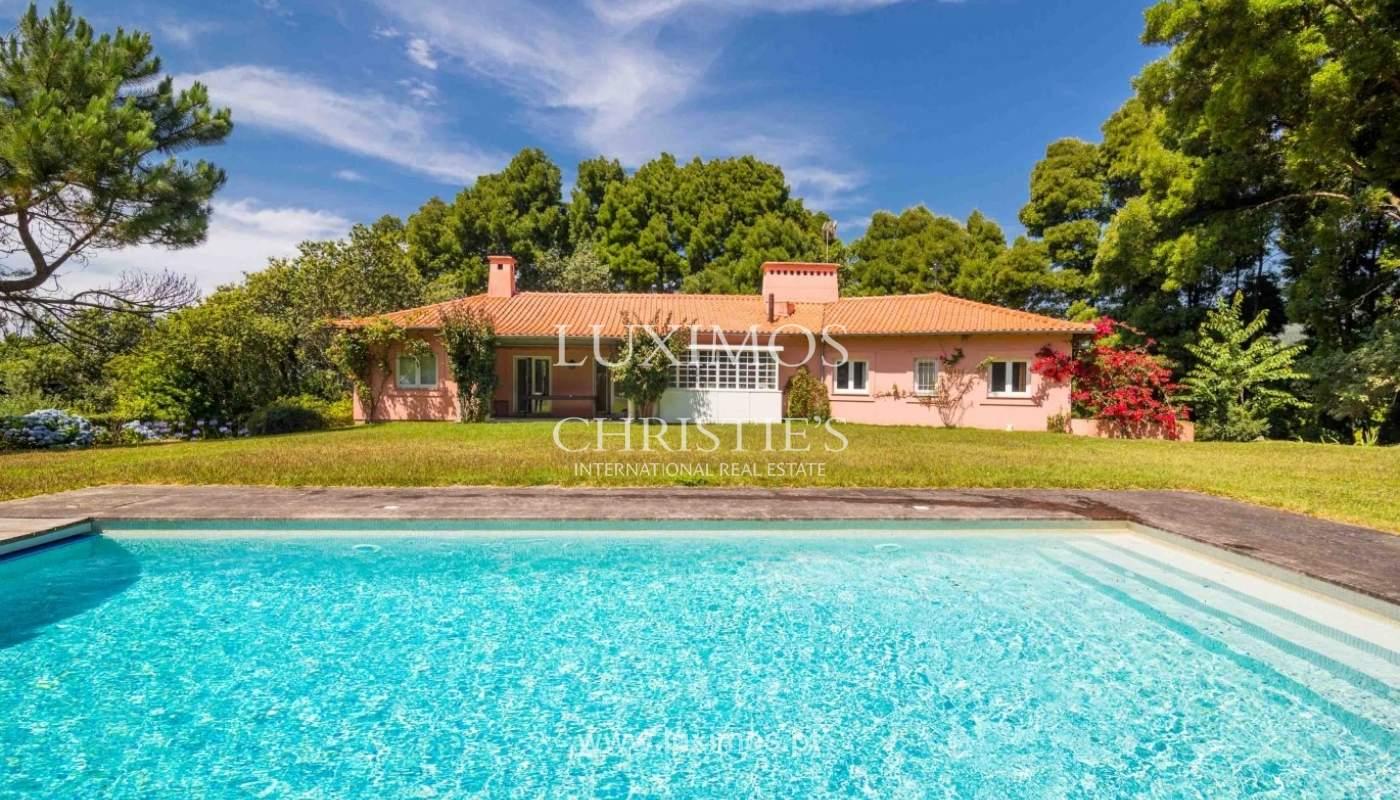 Villa with ocean views, garden and swimming pool, Moledo, Portugal_44861