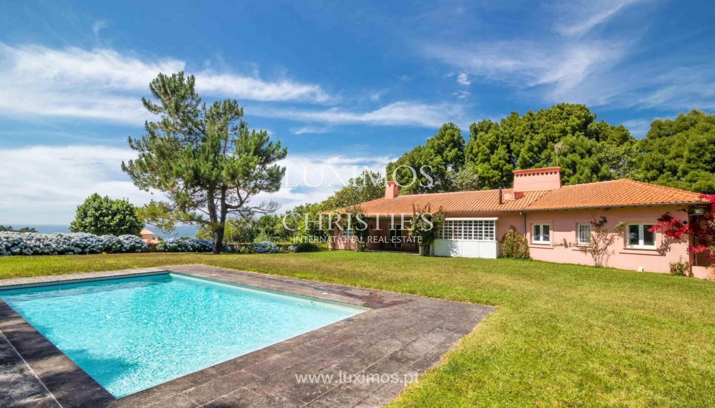 Villa with ocean views, garden and swimming pool, Moledo, Portugal_44862