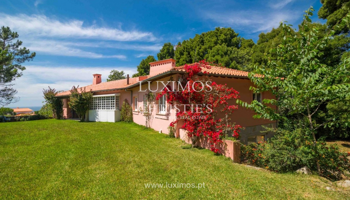 Villa with ocean views, garden and swimming pool, Moledo, Portugal_44864