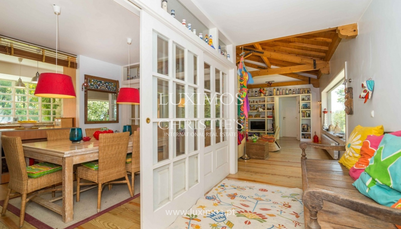 Villa with ocean views, garden and swimming pool, Moledo, Portugal_44876