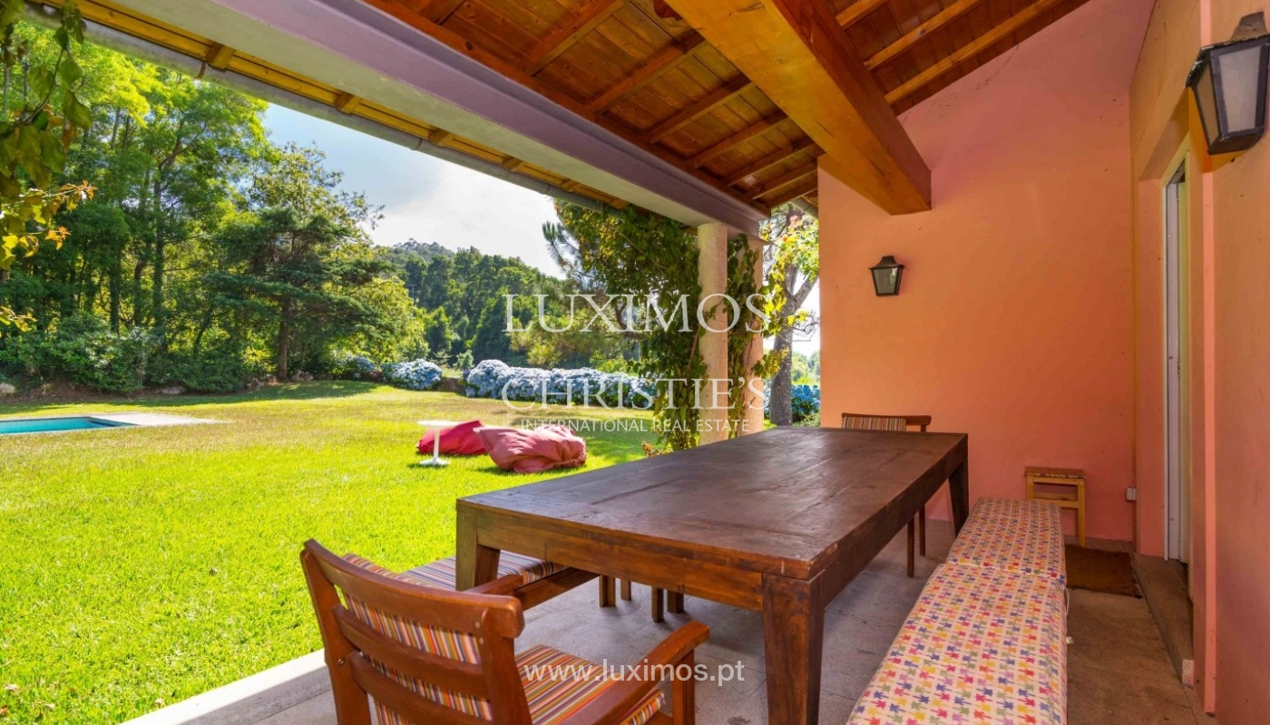 Villa with ocean views, garden and swimming pool, Moledo, Portugal_44887