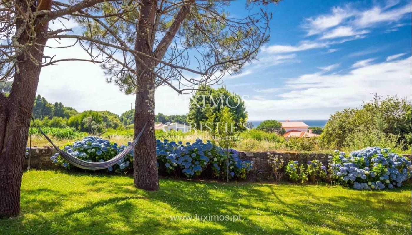 Villa with ocean views, garden and swimming pool, Moledo, Portugal_44888