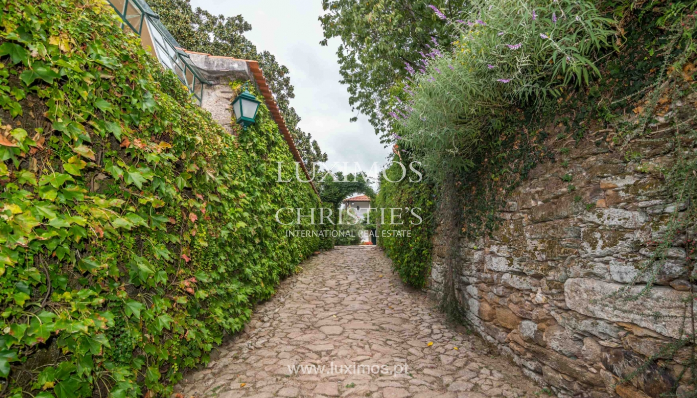 Manor house from XVII century w/ great garden, Fânzeres, Porto, Portugal_47919
