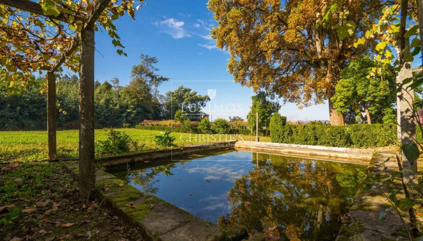 Quinta rústica com jardim, roseiral e tanque, Santa Maria da Feira_49700