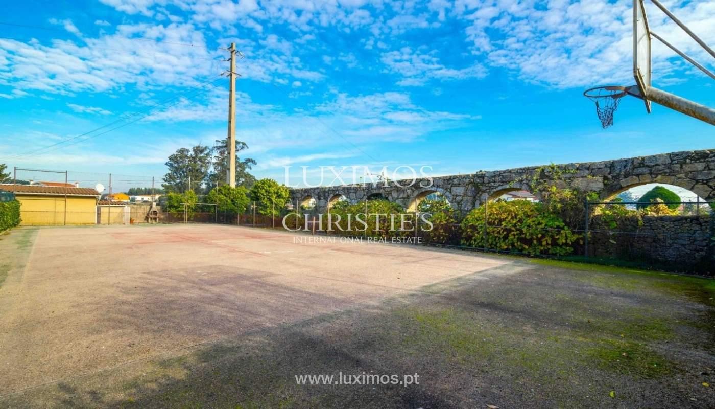 Vivienda con jardín, piscina y campo de juegos, Póvoa Varzim, Portugal_50690