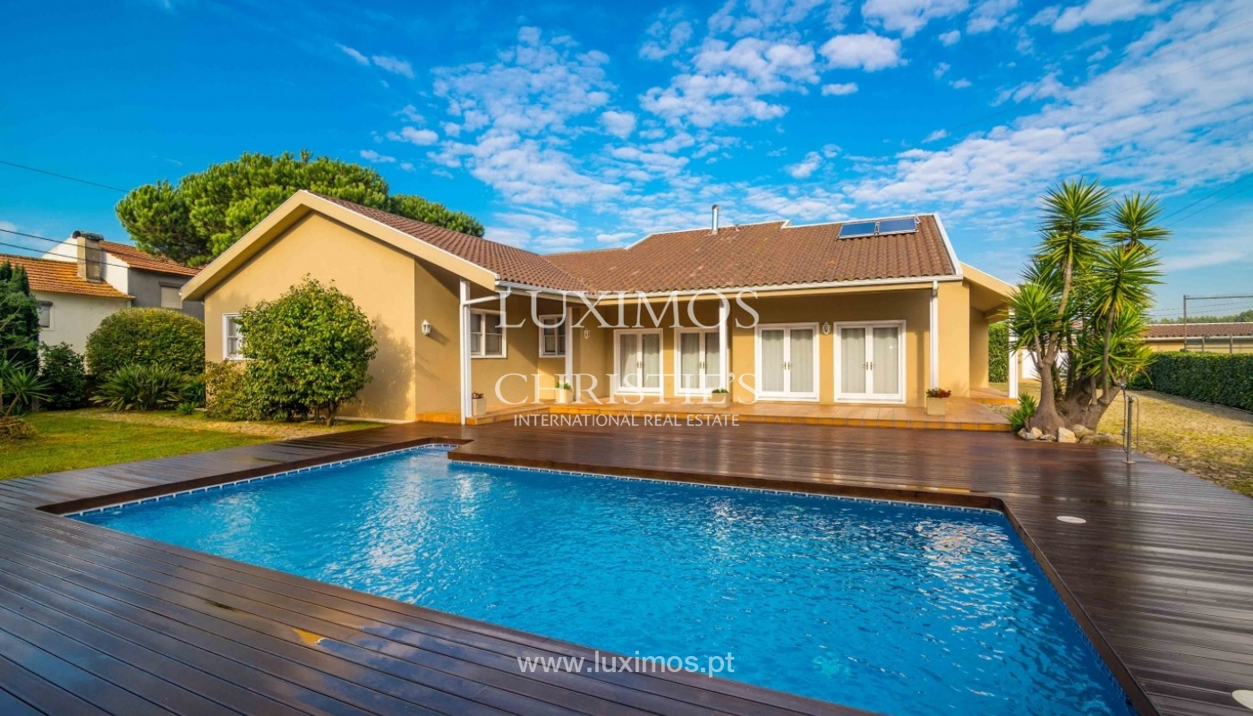 Vivienda con jardín, piscina y campo de juegos, Póvoa Varzim, Portugal_50691