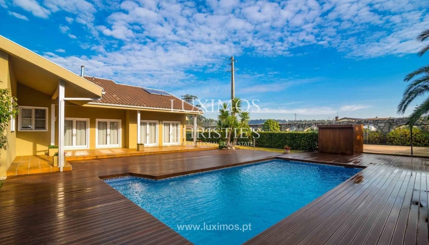 Vivienda con jardín, piscina y campo de juegos, Póvoa Varzim, Portugal_50693