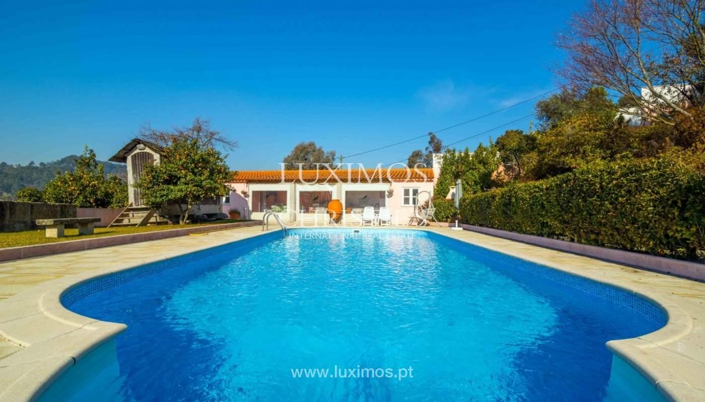Villa mit Garten und Blick auf die serra do Marão, Amarante, Porto, Portugal_51767